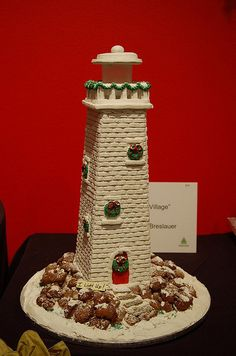 Lighthouse by REDPhotography, via Flickr Gingerbread Houses