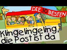Klingelingeling Die Post ist da   - Kindergartenlieder zum Mitsingen || ...