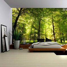Wall26® - Crowded Forest Mural - Wall Mural, Removable St... https://www.amazon.com/dp/B01BY43FMK/ref=cm_sw_r_pi_dp_dO0zxb280D1PN