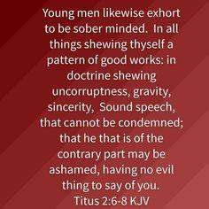 Titus 2:6-8