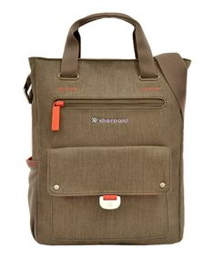 This Pebble Trevia Tablet Messenger Bag is perfect! #zulilyfinds