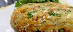 Rosti de batata doce com legumes