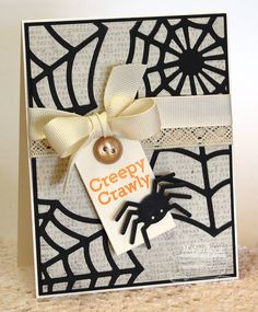 Spider Web Die-namics and Stamp Set - Megan Lock