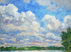"""Ken McIndoe. """"Landscapes,"""" Solo show at the Nassau Club, March 6-May 1, 2016"""