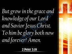 2 peter 3 18 the grace and knowledge powerpoint church sermon Slide03http://www.slideteam.net