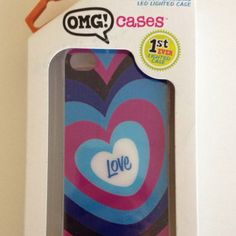 New light up iPhone case by http://OMGCases.com I'm so excited to get my hands on one of these!!!!!