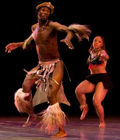 RHYTHM AND GROOVES: Performers with the Lesol's Dance Project - Courtesy National Black Arts Festival