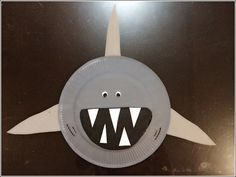 Paper Plate Shark « Paper Plate Crafts « Crafty-Crafted.com... Forward Attack