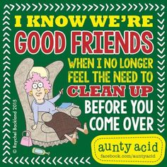 Ged Backland's random and witty thoughts on everyday life as told by Aunty Acid and her husband Walt in this Web comic Friends Forever, Best Friends, Aunt Acid, Silly Photos, Funny Pictures, Silly Me, Minions Quotes, Perfection Quotes, Funny Thoughts