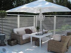 Hjärterums fantastiska uteplats, altan, veranda