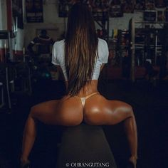PERFECT MUSCULAR LATINA THIGHS & BUTT of Colombian #Crossfit athlete & #Fitness model Tatiana Girardi : if you LOVE Health, Inspirational Physiques & Fitspo - you'll LOVE the #Motivational designs at CageCult Fashion: http://cagecult.com/mma