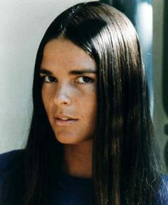 "BEST ACTRESS NOMINEE: Ali MacGraw for ""Love Story""."