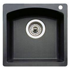 Blanco 440204 Diamond Bar Sink Silgranit II In Anthracite