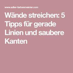 Wände streichen: 5 Tipps für gerade Linien und saubere Kanten