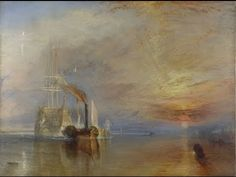 Joseph Mallord William Turner | The Fighting Temeraire | NG524 | National Gallery, London