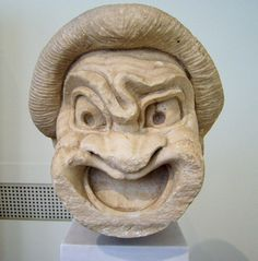 Discover everything about Le Maschere of comedy and tragedy, the ancient theater symbol mentioned in the novel Inferno by author Dan Brown Ancient Greek Theatre, Ancient Greek Art, Ancient Romans, Ancient Greece, Burlesque, Greek Tragedy, Comedy And Tragedy, Classical Antiquity, Ancient Artifacts