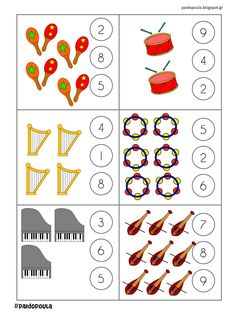 Montessori Activities, Preschool Activities, Cute Powerpoint Templates, Music Notes Decorations, Online Music Lessons, Music Symbols, Preschool Music, Kindergarten Math Worksheets, Piano Teaching