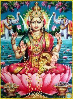 Shri-Lakshmi- Beauty, Power, Knowledge, Glory