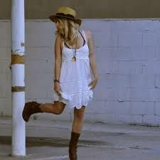 tan boots outfit - Google Search
