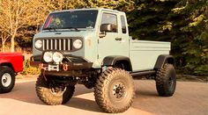 Jeep Moab concept - @Kristin Millis would love having this rig!