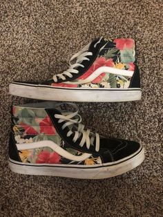 d687b1a070 vans old skool flower  fashion  clothing  shoes  accessories   unisexclothingshoesaccs  unisexadultshoes