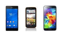Los 3 mejores móviles Android resistentes al agua (2014)