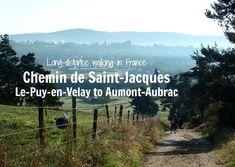 Chemin de Saint-Jacques from Le-Puy-en-Velay to Aumont-Aubrac