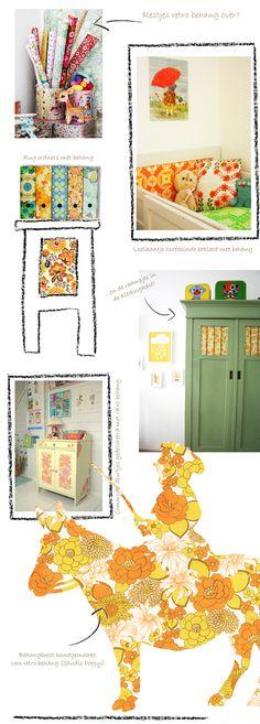 kinderkamer inspiratie blog retro vintage