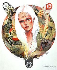 In The Circle #3 - Venus by greno89.deviantart.com on @deviantART