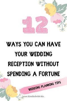 Wedding planning on a budget means you must take a closer look at the cost of your wedding reception. Your wedding reception will be your biggest wedding cost and it is one area where you can really save the most money. Steal our fabulous wedding budget tips and wedding budget advice to help you save the most money. #weddingbudget Wedding Bunting, Wedding Table Flowers, Wedding Costs, Wedding Tips, Wedding Catering, Wedding Reception, Wedding Cake Alternatives, Wedding Planning On A Budget