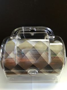 Men's 100% Silk Tie packaged in a acrylic toolbox. Perfect gift