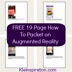 Tons of How To Resources for Augmented Reality - including a free 19 page step-by-step guide sharing how to get started!
