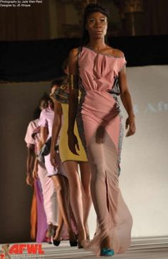 From Africa's Fashion Week.