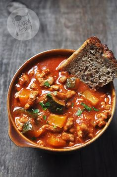 Nie no, naprawdę już wracam. Soup Recipes, Cooking Recipes, Healthy Recipes, Dinner Dishes, Indian Food Recipes, Food Inspiration, Food Porn, Good Food, Food And Drink
