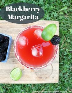 Mixed Drink Monday: Blackberry Margarita
