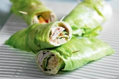 Turkey Cucumber and Hummus Lettuce Wrap. Use avacado instead of hummus for paleo. Lettuce Wrap Recipes, Lettuce Wraps, Lettuce Leaves, Paleo Vegan, Easy Healthy Recipes, Easy Meals, Free Recipes, Clean Eating Snacks, Healthy Eating