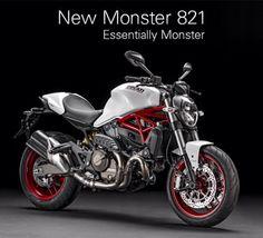Monster 821 White