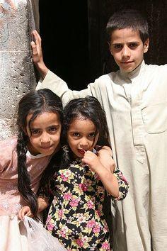 Kids in Yemen