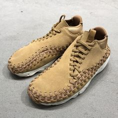 buy online e0fae a04a7 Nike Footscape Woven Chukka (443686-205) Flax USD 120 HKD 940 New Arrival   solecollector  dailysole  kicksonfire  nicekicks  kicksoftoday   kicks4sales ...