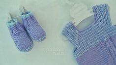 pontinhos meus: lilás para menina - baby in lilac