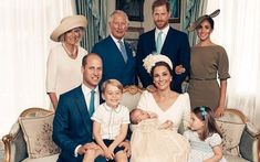 The next generation of The Firm gather together for Prince Louis's christening - Credit: Matt Holyoak