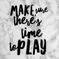 Maybe it fits easily into your life, maybe you need to schedule it in, but make sure that you and your kids have time to just play and have fun. It's just as important as getting your work done.