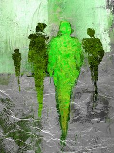 #The_Shadow_Men #myposter #abstrakt #menschen #people #kunst