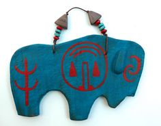 Buffalo bison western spirit native american by MokiTradingPost