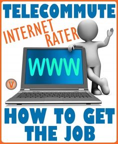 Have you heard of internet rating? It's a #legitimate way to work from home and #earn part-time #income. Here's how to get the job:
