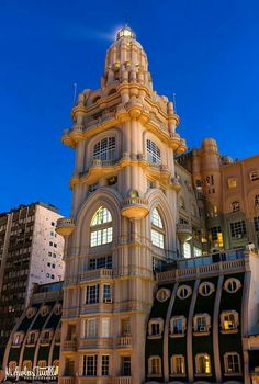 Palacio Barolo Buenos Aires Latin America, South America, Down South, Art And Architecture, Empire State Building, Big Ben, Art Nouveau, Spanish, Explore