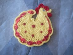 free chicken crochet patterns | Timeless Creations: March 2008