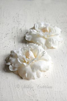 Wedding Hair Flowers by Mikiye Creations