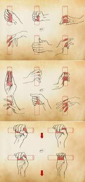 微博正文 - Drawing Hand Gestures