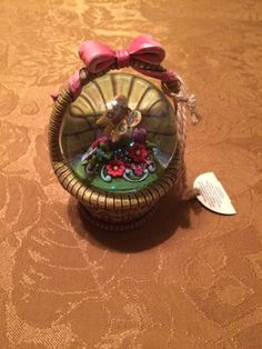 Jim Shore Sweet Blessings Water Globe Snow Globe New With Tags  - http://collectiblefigurines.net/jim-shore/christmas/jim-shore-sweet-blessings-water-globe-snow-globe-new-with-tags/